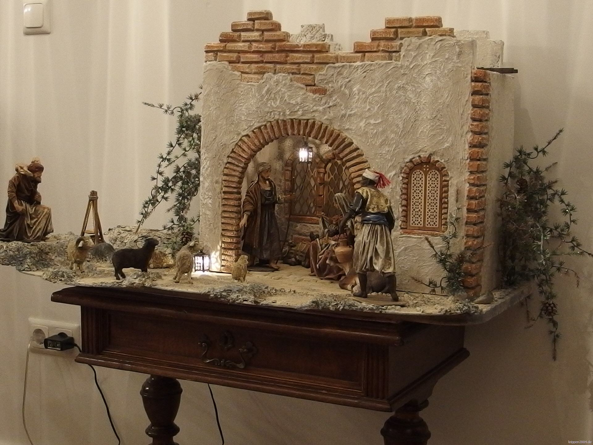 orientalische krippe aus regensburg. Black Bedroom Furniture Sets. Home Design Ideas